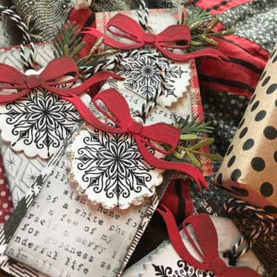 Lickity Split Christmas Tags
