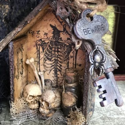 Keeper of the Bones- An Ornament for Halloween