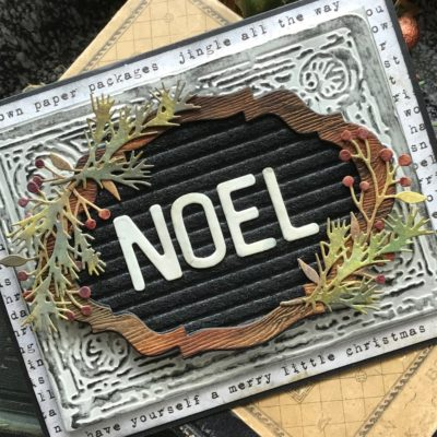 NOEL- A Letterboard Christmas Card