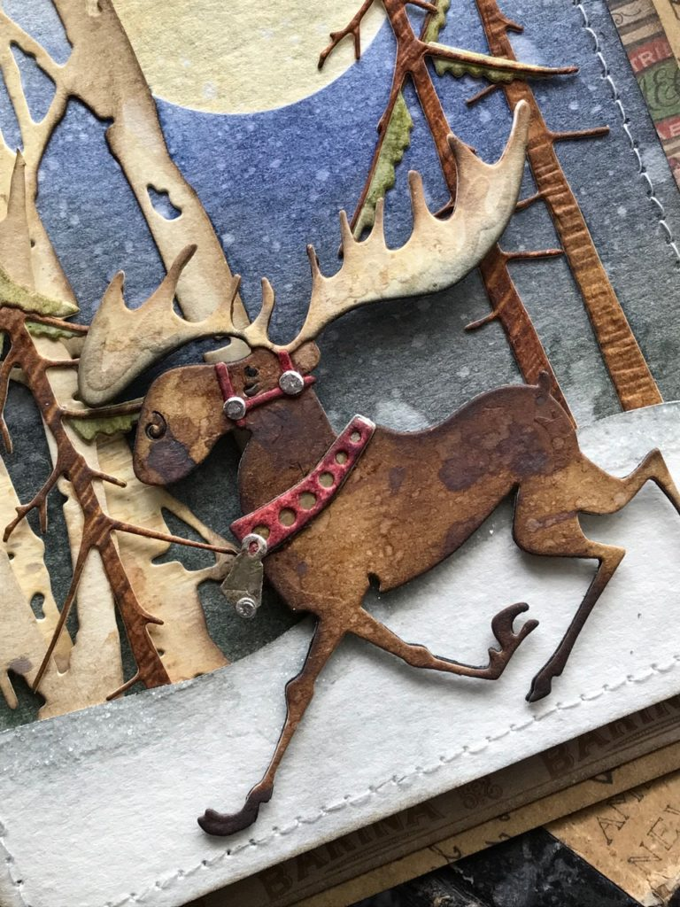 A Merry Moose for Christmas
