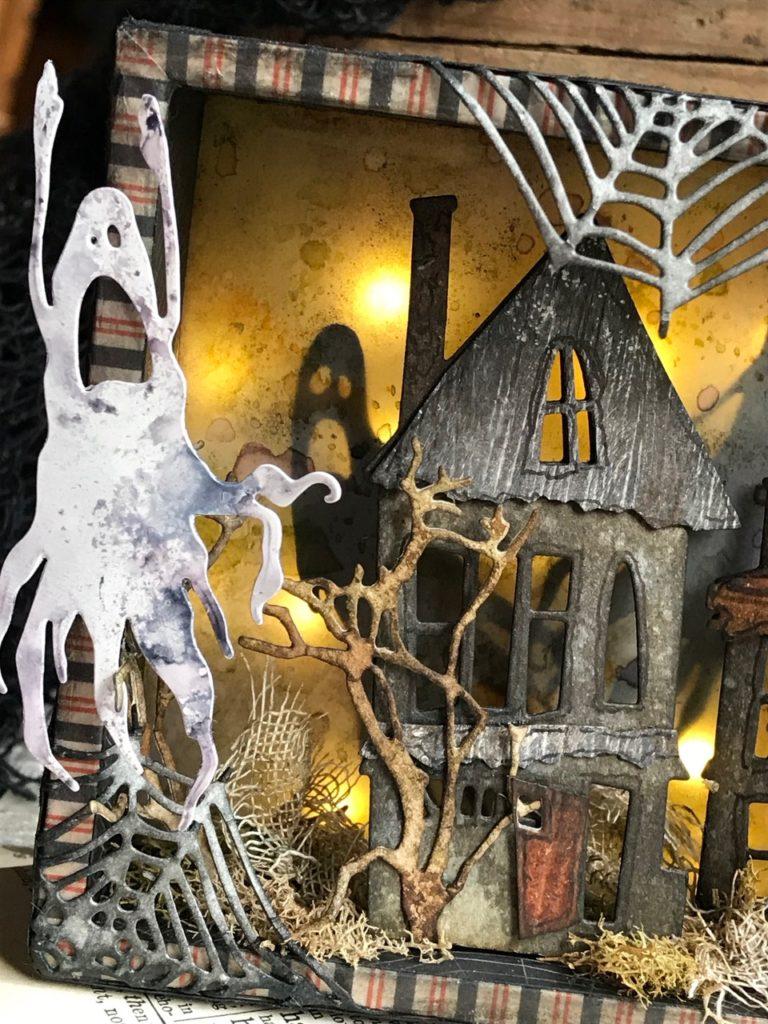 Sizzix Thinlits Dies By Tim Holtz-Ghost Town