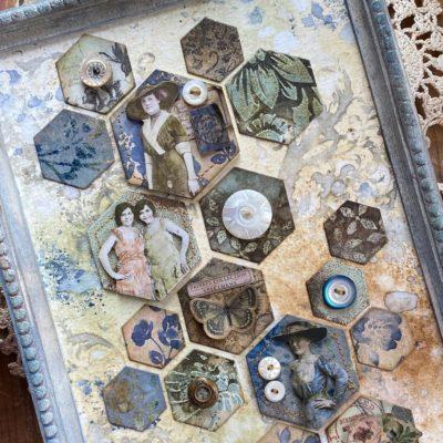 a hexagon sampler of sorts