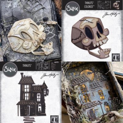 Tim Holtz Sizzix Halloween Chapter 3